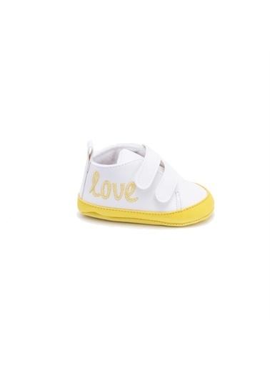 First Step love spor patik lacivert Sarı